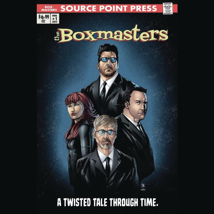 Boxmasters:  A Twisted Tale Through Time- Retailer