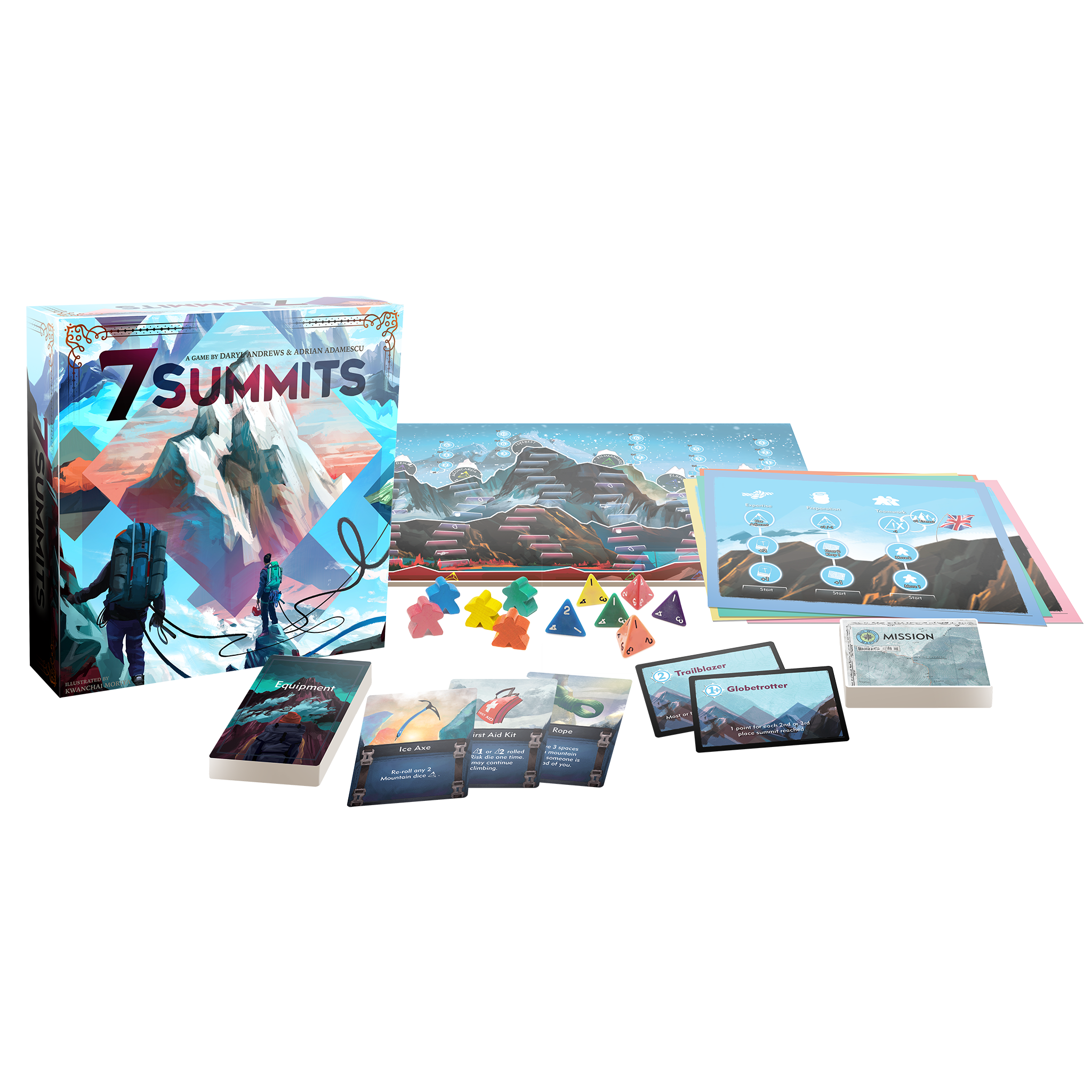 7 Summits Pre-Order + launch promos!