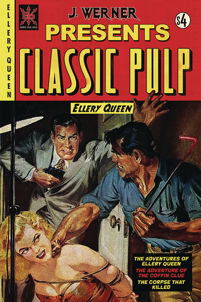 Classic Pulp Ellery Queen One Shot