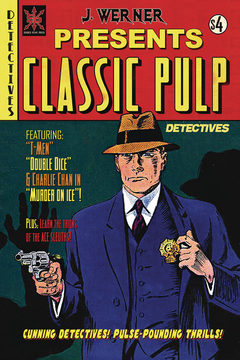 Classic Pulp Detectives One Shot- Retailer
