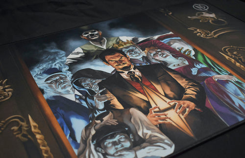 Seance Room Volume 1 and Playmat Bundle