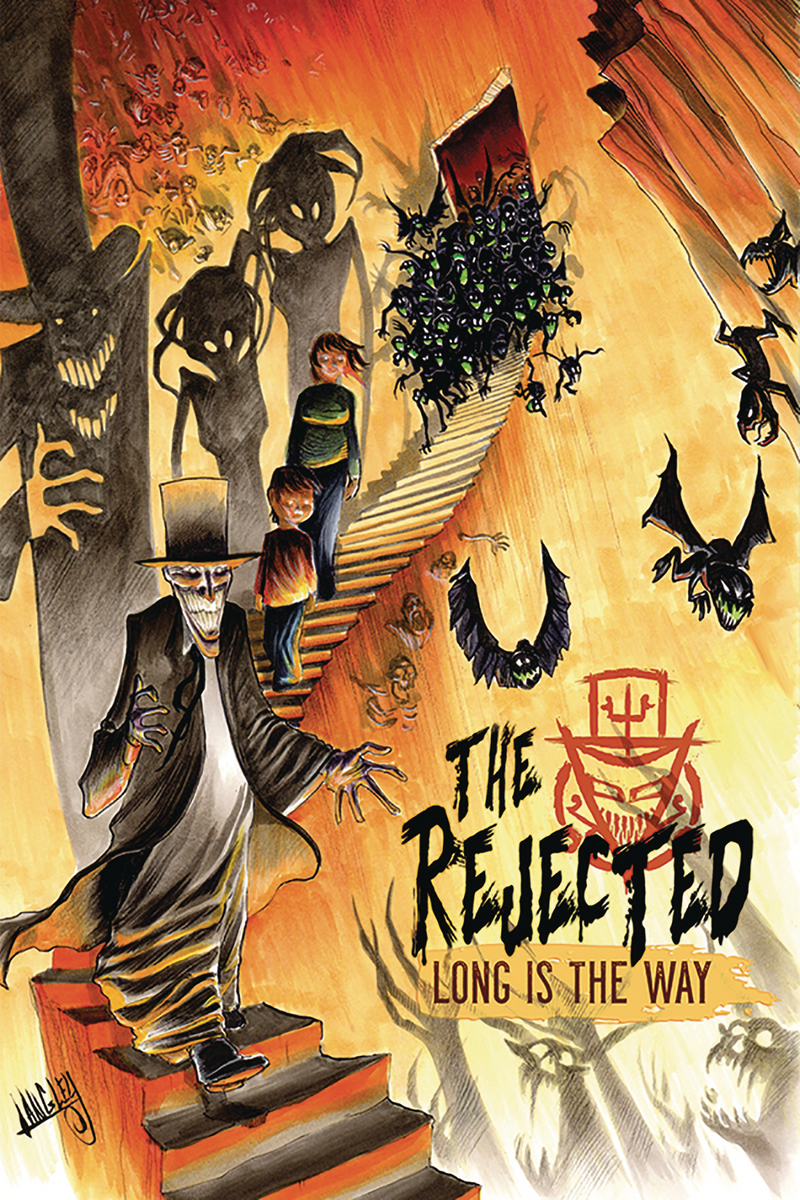 The Rejected Vol. 3:  Long is the Way- Retailer