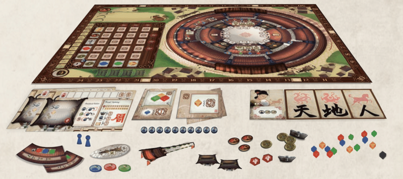 Round House + 2 expansions
