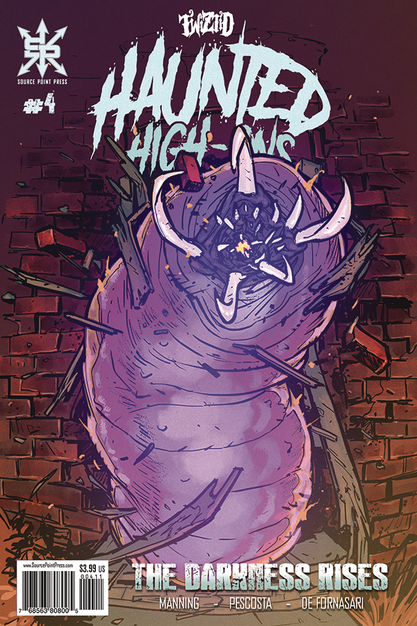 Twiztid Haunted High-Ons:  The Darkness Rises #4- Retailer