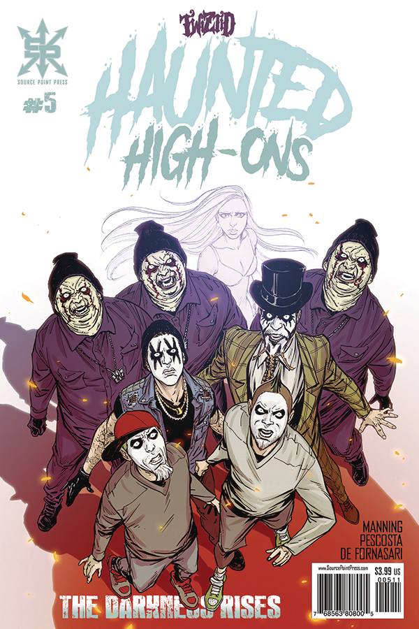 Twiztid Haunted High-Ons:  The Darkness Rises #5- Retailer