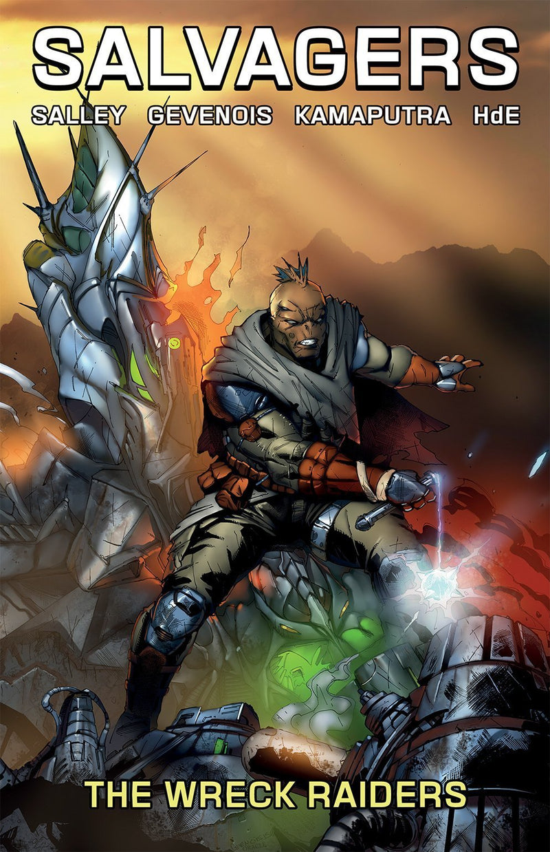 Salvagers Vol. 2: The Wreck Raiders- Retailer