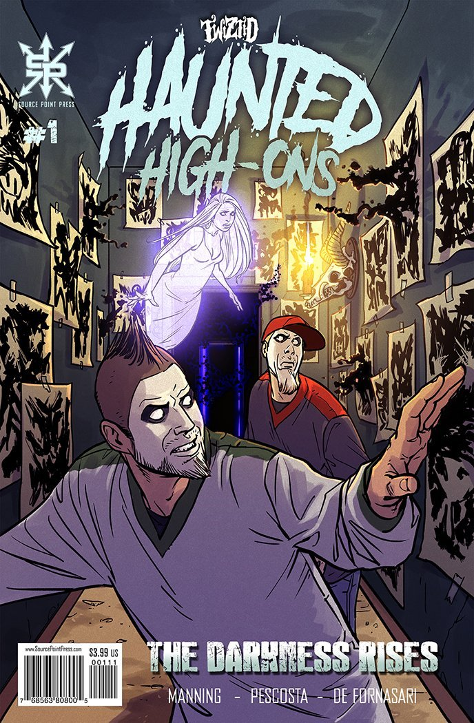 Twiztid Haunted High-Ons: The Darkness Rises #1- Retailer