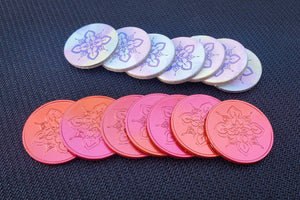 Hanamikoji Metal Tokens