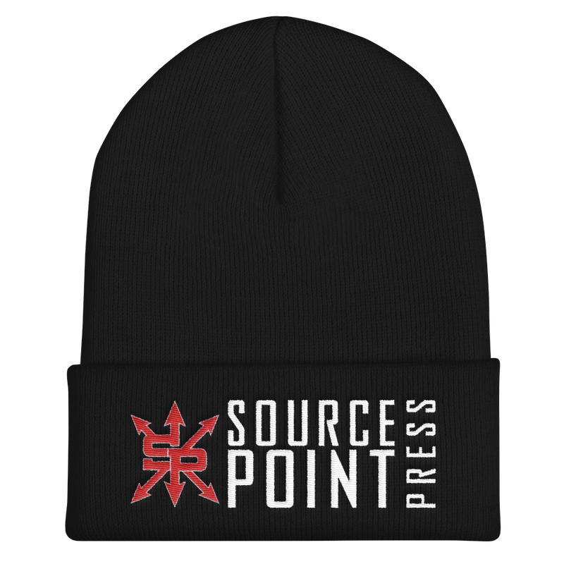 Source Point Press Cuffed Beanie