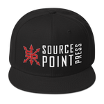 Source Point Press Wool Blend Snapback