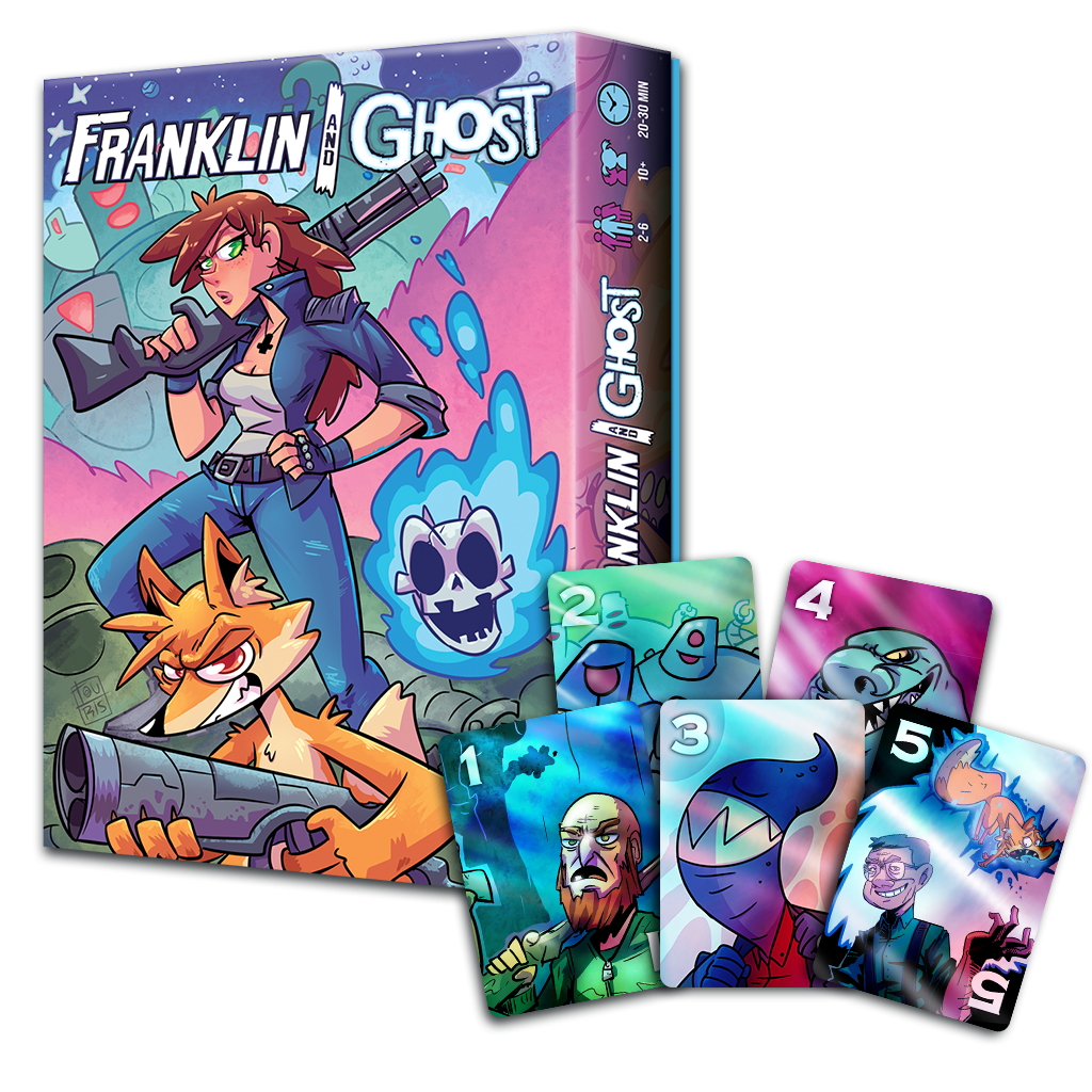 Franklin and Ghost: Bad Guy Brawl - Pre-order
