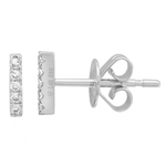 EAR BAR -DIAMOND