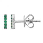 EAR BAR -EMERALD