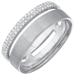 PARALLEL -PAVE DIAMOND BAND