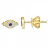 TINY THIRD EYE DIAMOND STUD
