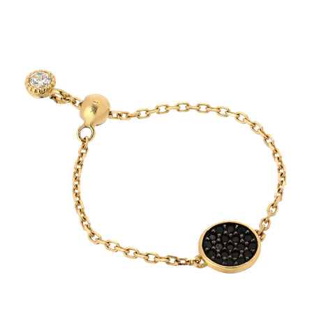 CHAIN RING -PAVE CIRCLE