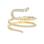 SERPENT DIAMOND RINGS