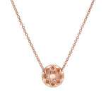 CALIFORNIA WILDFLOWERS  FULL BLOOM DIAMOND NECKLACE