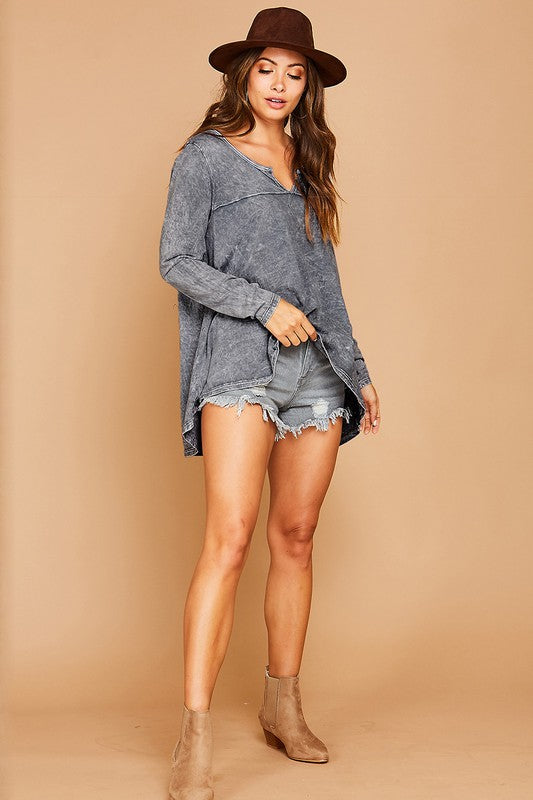 Woodstock Trapeze Top