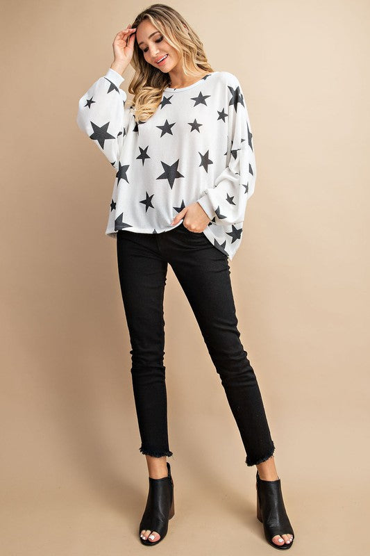 Starlight Thin Knit Top