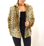 LEOPARD FAUX FUR COAT - FAB5Clothing