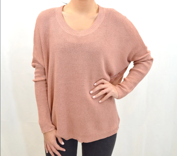 LIGHTWEIGHT BOXY SWEATER