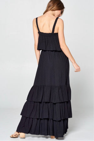 LA JOLLA TIERED MAXI DRESS