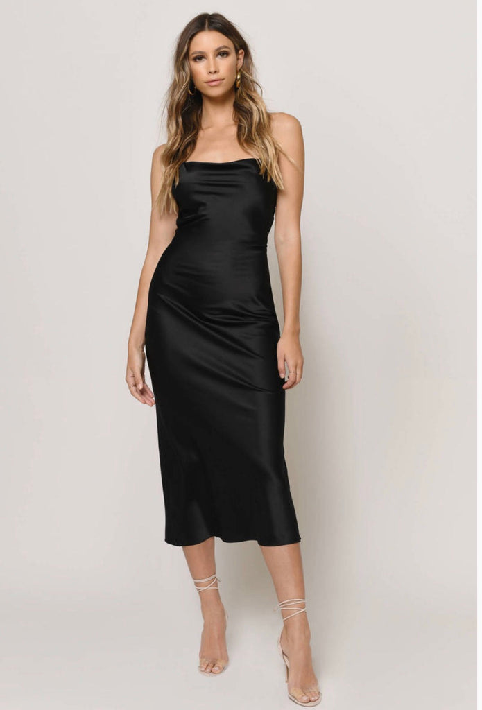 Jolie Satin Slip Dress