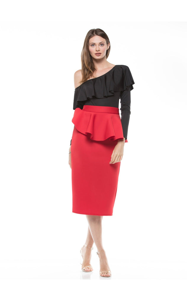 Marylin Peplum Skirt