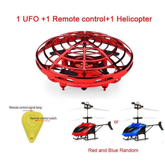 UFO MINI DRONE WITH ANTI-COLLISION