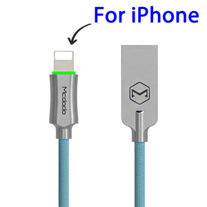 Auto Disconnect Fast Charging For Samsung & Iphone