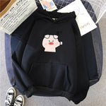 Fleece Cute Cartoon Hoodies