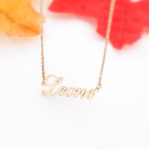 Personalised Stainless Steel Necklace Jewellery