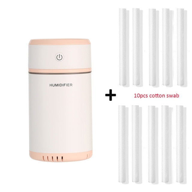 Air Humidifier with LED Lights /Air Purifier