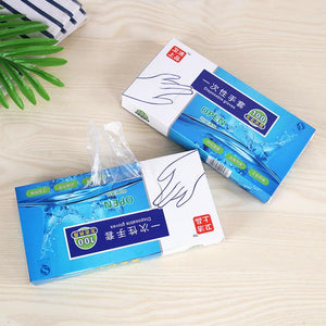 New 100 Pcs Eco-friendly Disposable Gloves