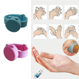 Squeezy Band Wristband Hand Dispenser