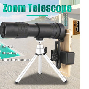 4K 10-300X40MM SUPER TELEPHOTO ZOOM MONOCULAR TELESCOPE