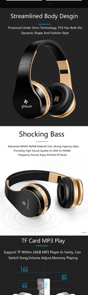 Bluetooth Wireless Headphone For Smartphone