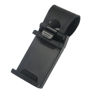 Universal Car Steering Wheel Clip Mount Holder