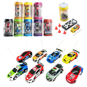 Mini Ring-pull Can RC Car Toy Gift for Children