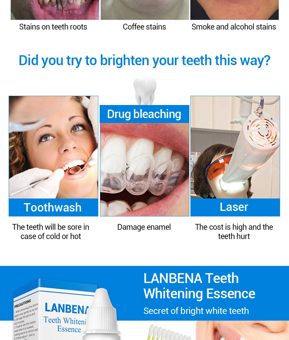Teeth Whitening Cleaning Serum