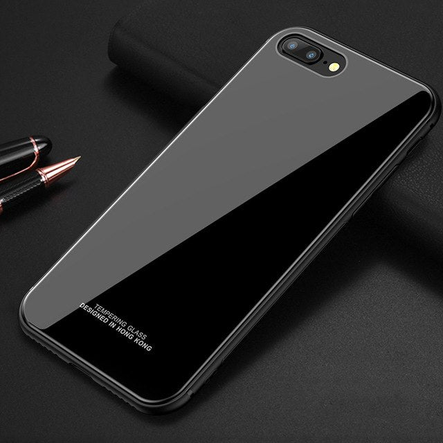 Classy Tempered Glass For iPhone