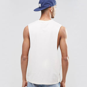 Extreme Dropped Armhole Tank Top For Men