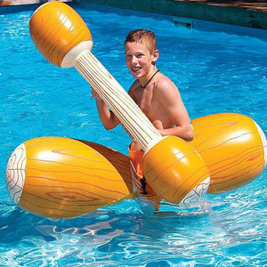 Inflatable Log Gladiator Game