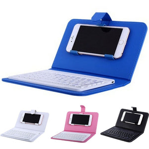 Portable Wireless Keyboard Case with Bluetooth Keyboard  For Iphone