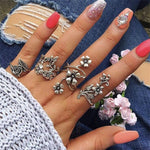 Women Jewellery Knuckle Ring Set Gift
