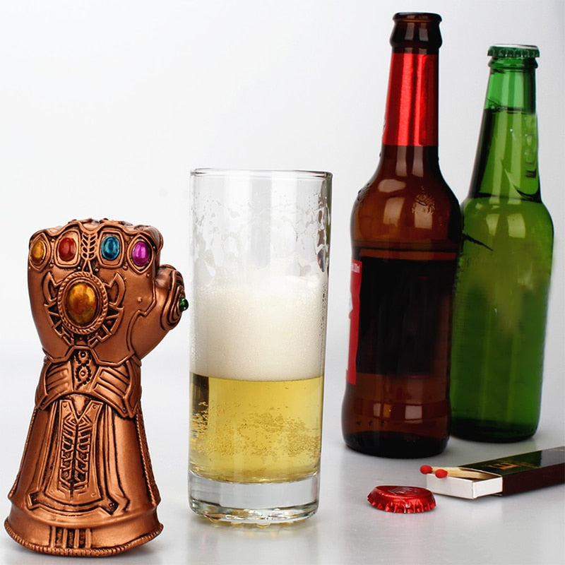 Infinity Thanos Glove Shaped bottle opener