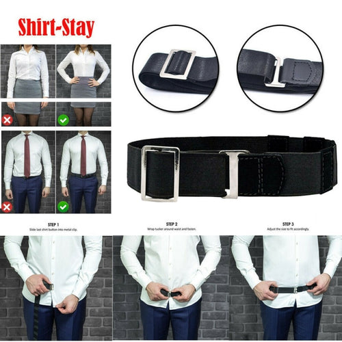 NEAR Adjustable Shirt-Stay | Look Your Best Everyday!
