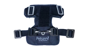 Front View - Otto Dog Harness - Car Safety Harness or Dog Car Restraint to protect dog during car travel or vehicle transportation