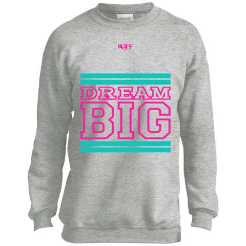 Black Teal and Pink Sweatshirt (Youth)